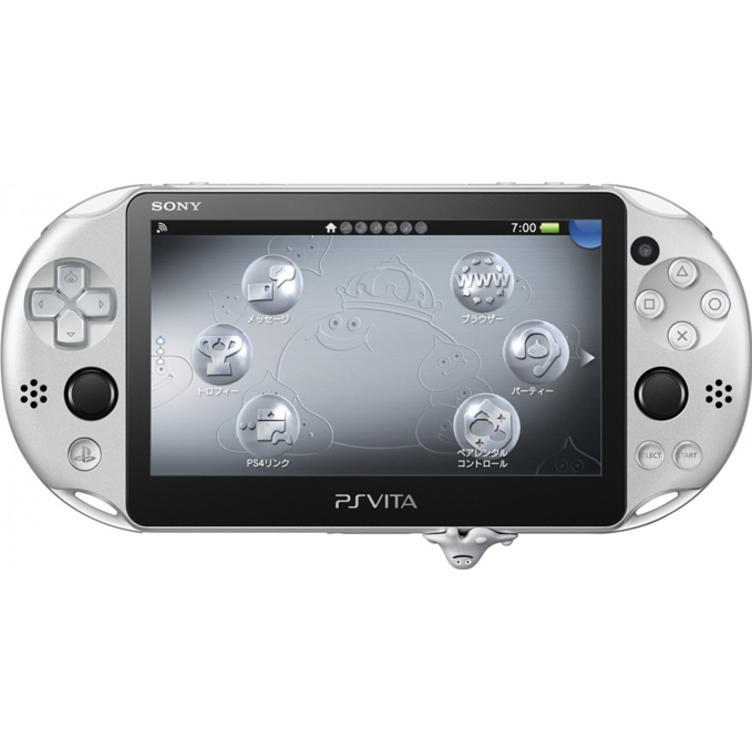 Sony Psp Games To Play : Playstation vita dragon quest metal slime edition