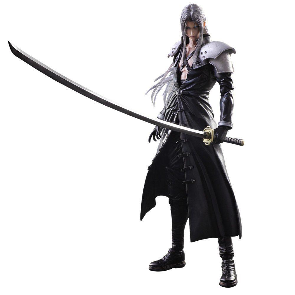 Final Consumers: Final Fantasy VII Advent Children Play Arts Kai: Sephiroth