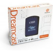 Dreamcast Visual Memory Card 4x VMS/VMU (Phantasy Star Online Design) preowned (Japan)
