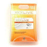 Xbox Live 12-Month Gold Card (US)