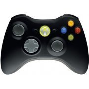 Xbox 360 Wireless Controller (Black) (Asia)