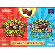 Donkey Konga 1+2 Bundle Pack preowned (Japan)