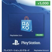 PlayStation Network Card (5000 YEN / for Japanese network only) [retail packing] (Japan)