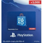 PlayStation Network Card (3000 YEN / for Japanese network only) [retail packing] (Japan)