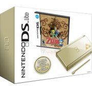 Nintendo DS Lite Gold with Legend of Zelda: Phantom Hourglass (US)