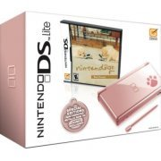 Nintendo DS Lite Metallic Rose with Nintendogs Best Friends (US)