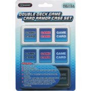 Double Deck Game Card Armor Case Set