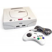 Sega Saturn Console - white (loose) preowned (Japan)