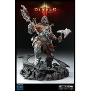 Diablo III Collectible Series Overthrown Pre-Painted Polystone Diorama Statue: Barbarian (US)
