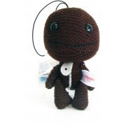 LittleBigPlanet Mini Knit Mascot Plush Doll: Sackboy (Normal Version) (Japan)