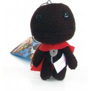 LittleBigPlanet Mini Knit Mascot Plush Doll: Sackboy (Soldier Version) (Japan)