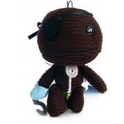 LittleBigPlanet Mini Knit Mascot Plush Doll: Sackboy (Pirate Version) (Japan)