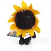 LittleBigPlanet Mini Knit Mascot Plush Doll: Sackboy (Sunflower Version) (Japan)