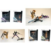 Revoltech Miniature Neon Genesis Evangelion Action Figure Set (Japan)