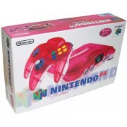Nintendo 64 Console - clear red preowned (Japan)
