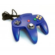 Nintendo 64 Joypad - blue (loose) preowned (Japan)