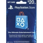 PlayStation Network Card (US$ 20 / for US network only) (US)