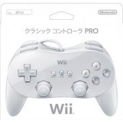 Wii Classic Controller Pro (White) (Japan)