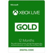 Xbox Live Gold 12-Month Membership (Region Free)