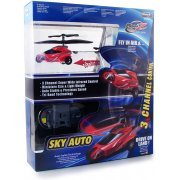 Picoo Z Infrared Control Helicopter Sky Auto (Red) (Asia)