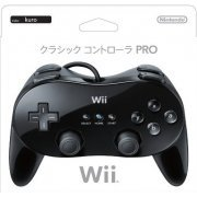 Wii Classic Controller Pro (Black) (Japan)