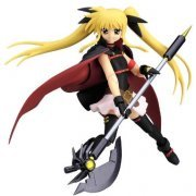 Magical Girl Lyrical Nanoha Striker S Non Scale Pre-Painted PVC Figure: figma Fate Testarossa (Japan)