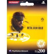PlayStation Network Card / Ticket - Metal Gear Solid Peace Walker (200 HKD / for Hong Kong network only) (Hong Kong)