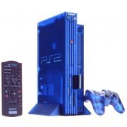 PlayStation2 Console Ocean Blue Limited Edition (Japanese version) (Japan)