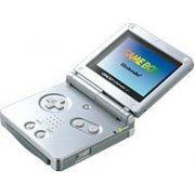 Game Boy Advance SP - Silver/Platinum (220V)