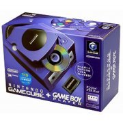 Game Cube + Game Boy Player Enjoyment Plus Pack - Purple/Indigo (Japan)