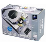 Game Cube + Game Boy Player Enjoyment Plus Pack - Silver/Platinum (Japan)