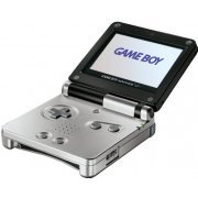 Game Boy Advance SP - Dual Tone Platinum/Onyx (110V)