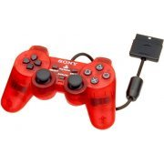 Dual Shock 2 Controller (Crimson Red) (Asia)