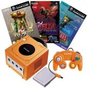 Game Cube Console - Spice Orange Special Pack (Korea)