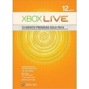Xbox Live 12-Month Premium Gold Pack (US)