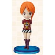 One Piece World Collectable Pre-Painted PVC Figure vol.3: TV020 - Nami (Japan)