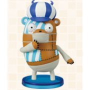 One Piece World Collectable Pre-Painted PVC Figure vol.3: TV023 - Kumashi (Japan)
