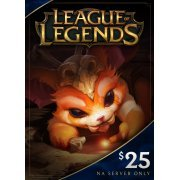 League of Legends Gift Card USD 25 (US)
