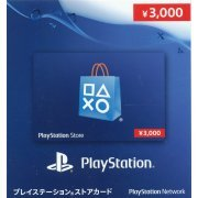 PlayStation Network 3000 YEN PSN CARD JP (Japan)