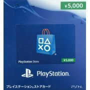 PlayStation Network Card (5000 YEN / for Japanese network only) digital (Japan)