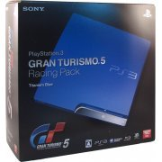PlayStation3 Slim Console - Gran Turismo 5 Racing Pack (HDD 160GB Model) - 110V (Japan)