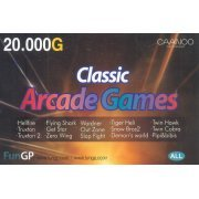 GP2X Caanoo Classic Arcade Games Download Card (20,000G) (Korea)