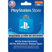 PSN Card 50 USD | Playstation Network US  digital (US)