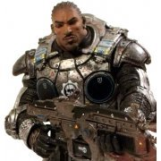 Gears of War 3 Pre-Painted Action Figure: Jace Stratton SDCC Exclusive Ver. (US)