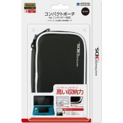Compact Pouch 3DS (Black) (Japan)
