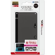 Silicon Cover 3DS (Black) (Japan)