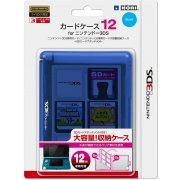 3DS Card Case 12 (Blue) (Japan)