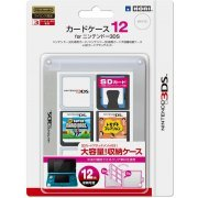 3DS Card Case 12 (Clear) (Japan)