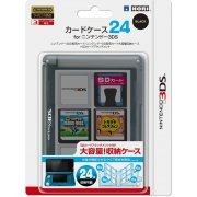 3DS Card Case 24 (Black) (Japan)