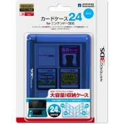 3DS Card Case 24 (Blue) (Japan)